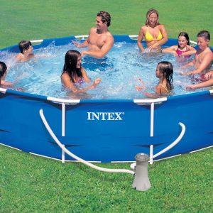 Piscine fuori terra intex floricoltura quaiato for Filtro piscina intex