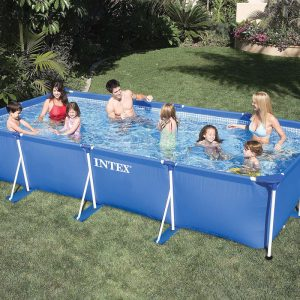 Piscine fuori terra intex floricoltura quaiato - Scaletta piscina intex ...