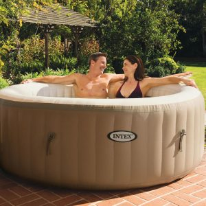 INTEX Pure spa bubble therapy 196x71 cm - 120 getti idromassaggio