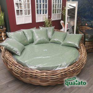 divano tondo da esterno