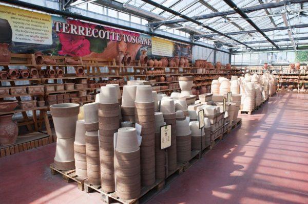 vasi terracotta per rose