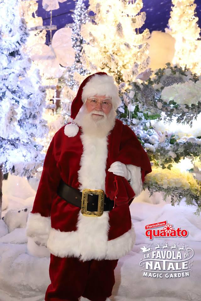A Che Ora Arriva Babbo Natale.Babbo Natale Arriva A Verona Floricoltura Quaiato
