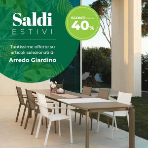 SALDI ARREDO ESTATE 2020